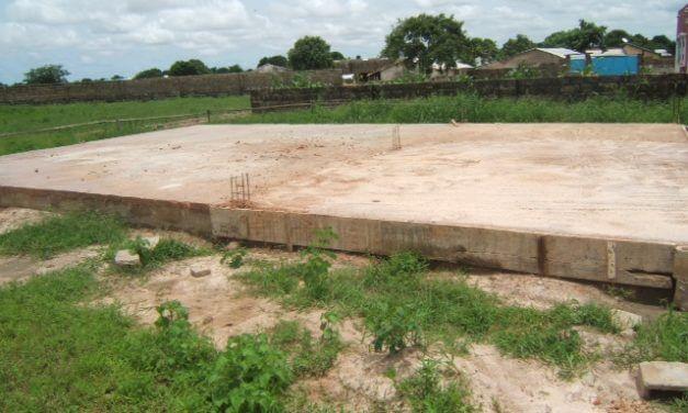 Busumbala Nursery School – Concrete Base Completed