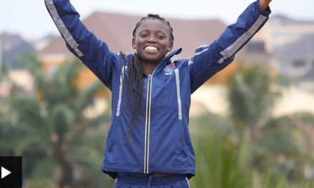 The Gambia's first female Olympian