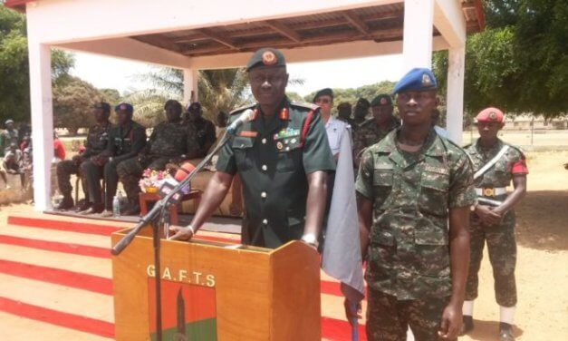 Gambia, Britain start joint military training exercise in Banjul
