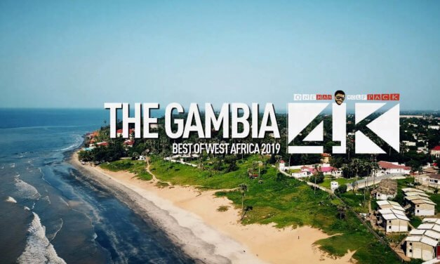4K Drone Footage of The Gambia