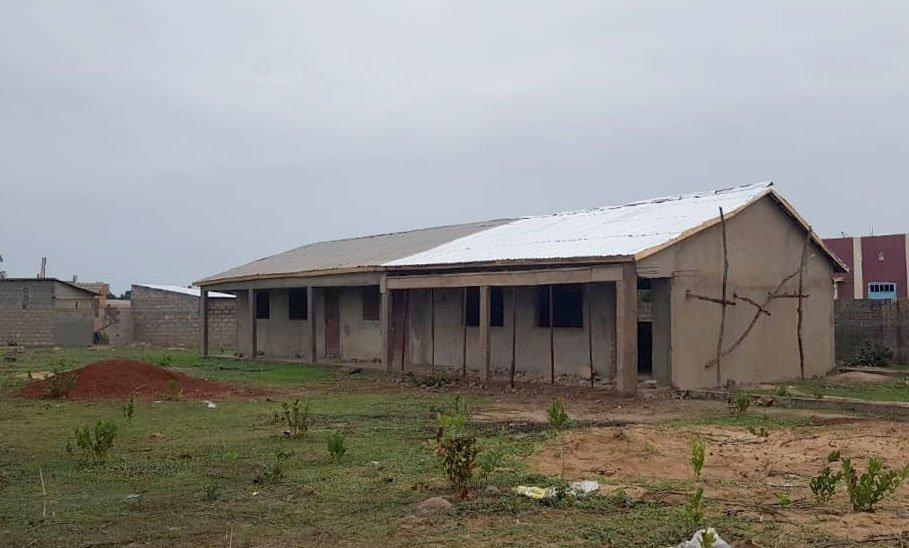 Classroom 2 Roof Complete