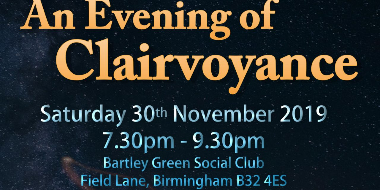 An Evening of Clairvoyance
