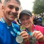 Mark and Lou's Half Marathon Success