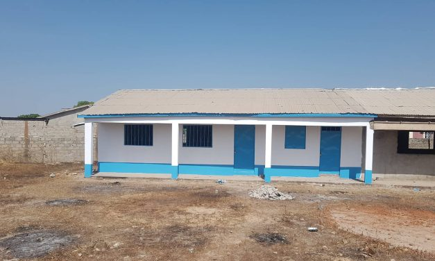 Busumbala Classroom 1 painted and ready for action